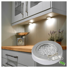 Sensio Under Cabinet Spot Lights Stainless Steel LED and Sensio Driver 24V