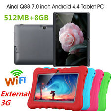 "7"" Kinder Tablet Android4.4 512MB+8GB Dual Camera WIFI External 3G Tablet PC NEU"