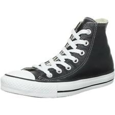 Converse Chuck Taylor All Star Hi Nero In Pelle Adulto Trainers