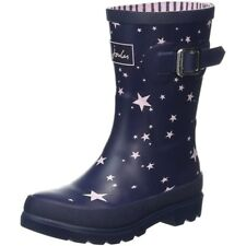 Joules Printed Welly Star Marina Francese Gomma Gioventù Wellingtons Stivali