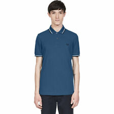 FRED PERRY Twin Tipped Fred Perry Shirt Kult-Poloshirt Heren reine Baumwolle
