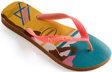 HAVAIANAS TOP FASHION da donna FlipFlops Infradito 4137258.1976 NUOVO