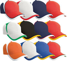 Result Cap National Baseball Hat Mens Womens Adults England World Cup Cap