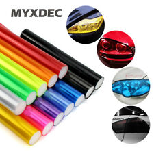 Vinyl Car Tint In 30cm x 1m Auto Car Sticker HeadLight Taillight Smoke Fog Light