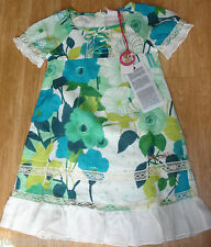 Nolita Pocket girl Turtle summer dress  3-4, 10-11-12 y  BNWT designer