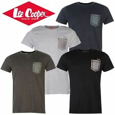 """Tee Shirt Homme """"LEE COOPER"""" col rond Poche poitrine Polo Neuf"""