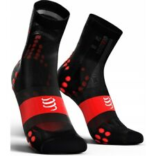 Compressport Calcetines Pro Racing Socks V3.0 Ultra Light Bike Negro-Rojo