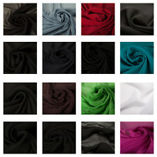 Premium Quality 100% Georgette Fabric Dress Material Upholstery Fashion Craft