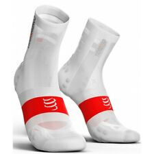 Compressport Calcetines Pro Racing Socks V3.0 Ultra Light Bike Blanco