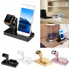 Docking Station per Apple Watch iWatch iPhone X 8 7 Dock Caricabatterie Supporto
