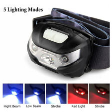 Headlamp LED Rechargeable Running Headlamps USB CREE 5W Headlight Perfect