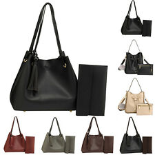 Ladies Hobo Bag With Free Pouch Women Faux Leather Designer New Handbag Shoulder