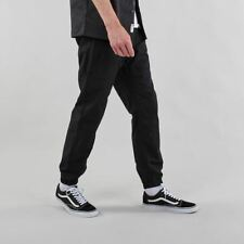 Carhartt WIP Men's Marshall Slim Fit Cotton Ripstop Jogger Pants Black Rinsed
