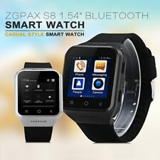 """ZGPAX S8 1.54"""" Android Smart Watch Phone with SIM MP3 Bluetooth GPS Touch GW"""