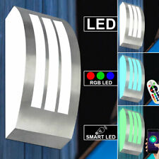 Led Exterior Aplique de Pared RGB Mando a Distancia Fachadas Acero Inox. Hof Big