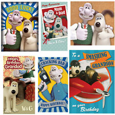 Wallace & Gromit Greeting Cards - FREE 1ST Class Postage