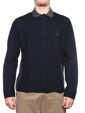 FRED PERRY POLO SPECIAL EDITION 30102127 NAVY Polo maniche lunghe Uomo