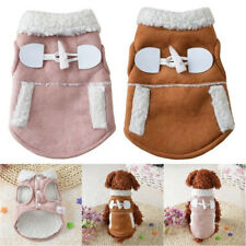 Warm Small Dog Jacket Winter Pet Cat Clothes Apparel Puppy Coat Vest Hoodie New