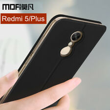 Xiaomi Redmi 5 Plus case cover flip leather silicone full protect shockpoof Gift