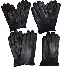 New Italian styled Man's Fine  leather gloves winter gloves Guantes De Envierno*