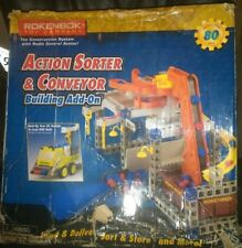 Rokenbok Action Sorter And Converter 04729 Building Add-On Over 80 Pieces