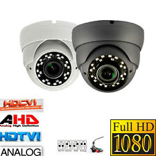 DOME CAMERA FULL HD 1080P 2.4MP CCTV OUTDOO 2.8-12mm LENS 30M WIDE ANGLE VIEW-UK
