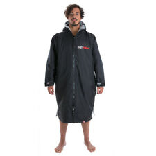 Dryrobe Advance - Long Sleeved - All Weather Changing Robe (Black/Grey)