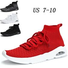 Mens Outdoor Sneaker Breathable Casual Sport Athletic Running Gym Trainers Shoes