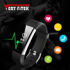 Smart Bracelet Sports Wristband With Heart Rate Monitor Fitness Tracker Band Wat