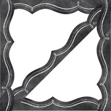 Chalk It Up Dotted Swirl Border  by Creative Teaching Press