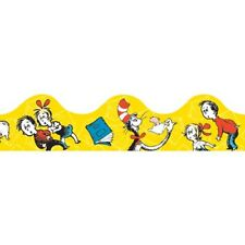 Dr. Seuss Cat in the Hat Yellow Deco Trim by Eureka