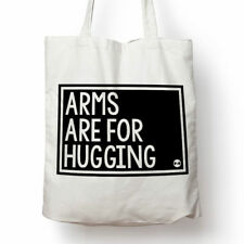 Arms Are for Hugging canvas tote bag
