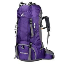 60L Camping Hiking Backpack 6 Colors Outdoor Bag Backpacks Nylon Sport Bag For C