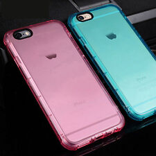Coque Mince Anti-Chocs 4 Couleur Apple Iphone 5 5S SE 6 6S Protection Silicone