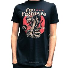 FOO FIGHTERS SNAKE T-SHIRT100% OFFICIAL MERCHANDISE