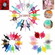 5,10,20pcs Elastic Baby Headdress Kids Hair Band Girls Bow Newborn Headband gift