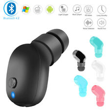 Mini Wireless Bluetooth 4.1 Stereo Headset In-Ear Earphone Earbud  Waterproof
