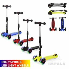 Kids Stunt Scooter Push Scooters Maxi 360 degree Bar Girls Boys Mobility Adult