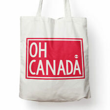 Oh Canada cotton canvas tote bag