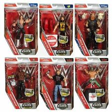 Various WWE Mattel Elite Series 48 Flashback Wrestling figure New/Boxed.