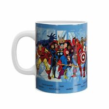 Officially Licensed Marvel Comics Superheroes Giant Coffee Mug Cup