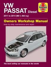 Haynes Workshop Manual VW Passat Diesel 2011-2014 Service & Repair