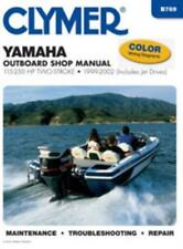 Clymer Workshop Manual Yamaha 115-250HP Two-Stroke Outboard Jet Drives 1999-2002