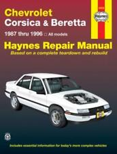 Haynes Workshop Manual Chevrolet Corsica Chevy Beretta 1987-1996  Service Repair