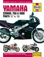 Yamaha FZR 600 750 1000 Fours 1987-1996 New Haynes Workshop Manual Service