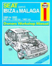 Haynes Workshop Manual Seat Ibiza & Malaga 1985-1992 Petrol Service Repair