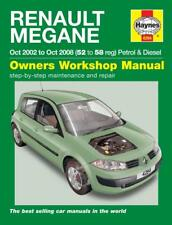 Haynes Workshop Manual Renault Megane 2002-2008 Service & Repair