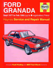 Haynes Workshop Manual Ford Granada 1977-1985 Ghia LX GL GLX  Service & Repair