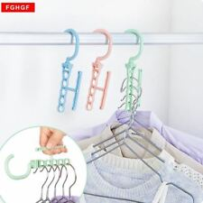 Five hole plastic drying laundry clothes hangers racks Multifunction bedroom che
