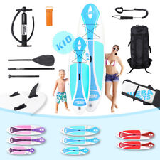 Stand Up Paddle Sup Tavola Surf Asse Gonfiabile 230x10 325x15 Bambini Incl.